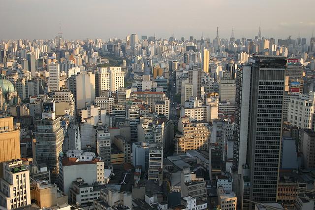 São Paulo - vista áerea