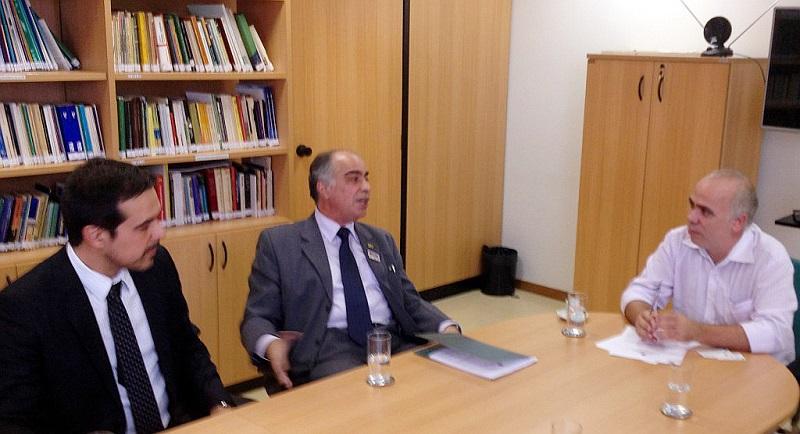 Leandro Flores, Haroldo Pinheiro e Marcos Alves de Souza