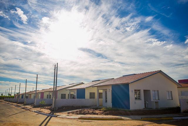 Conjunto Habitacional em São Paulo. Imagem: Governo de SP.