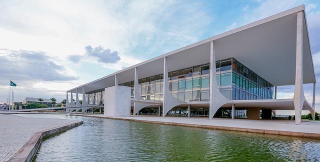 Palácio do Planalto, em Brasília/DF