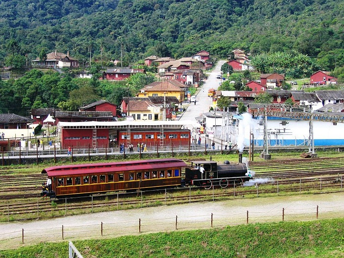 Vila de Paranapiacaba, em Santo André/SP