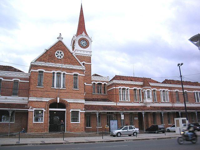 Estação Ferroviária no bairro do Botafogo — Centro Cultural de Campinas.
