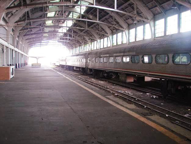 Estação do Complexo Ferroviário de Bauru