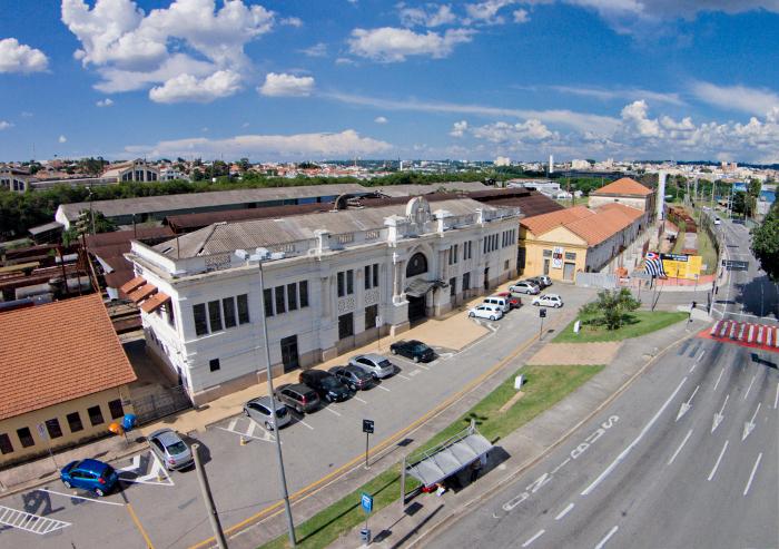 Estação do Complexo Ferroviário de Sorocaba.