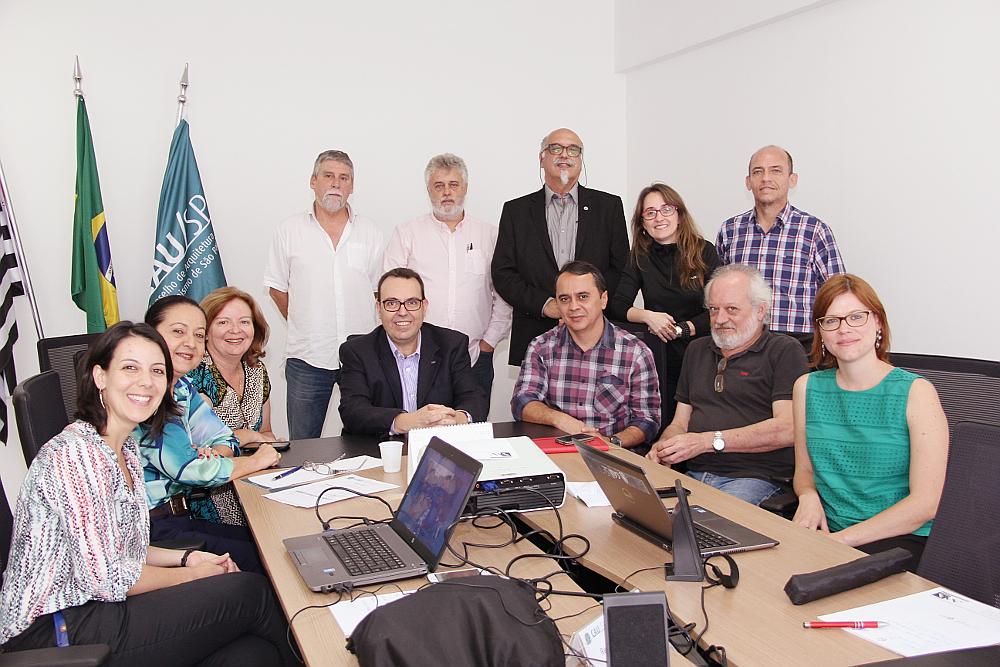Reunião do CAU/BR e CAU/SP.