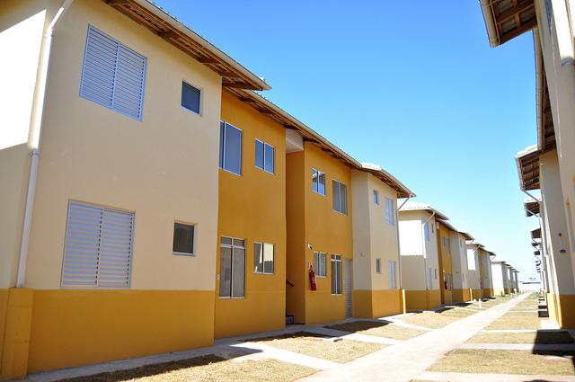 Conjunto residencial em Itanhaém/SP.