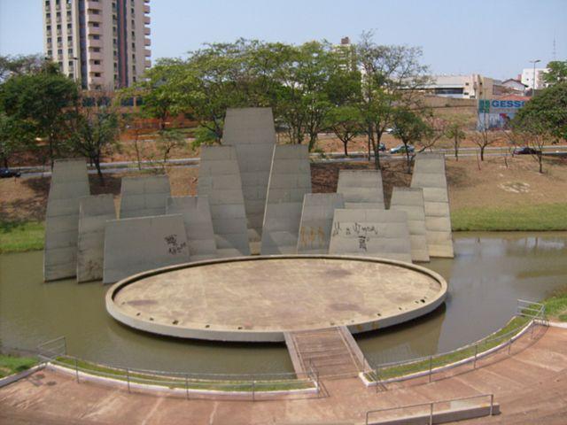 Parque Vitória Régia em Bauru/SP.