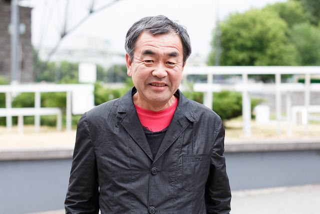 O arquiteto japonês Kengo Kuma