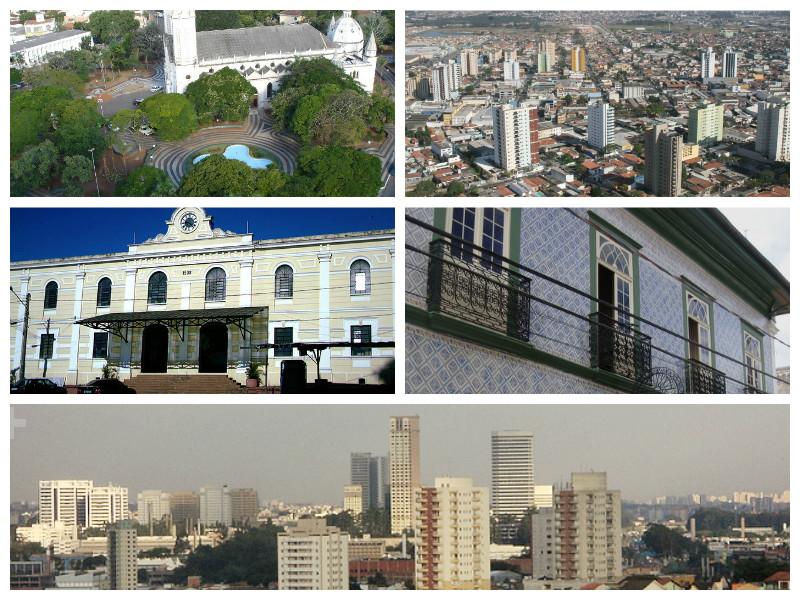 O projeto CAU Itinerante vai passar pelas cidades de Imagem: Wikimedia Commons, Lucas Garcia/FlickrCC, Prefeituras de Tupã e Suzano.