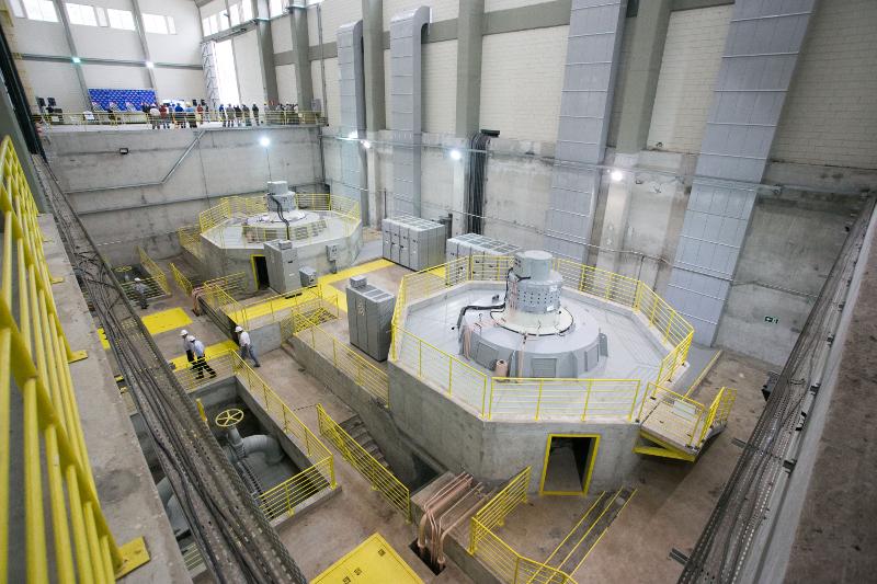 PCH (Pequena Central Hidrelétrica) na cidade de Pirapora do Bom Jesus, interior de São Paulo.