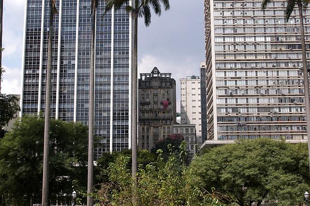 Vale do Anhangabaú, no centro da capital paulista. Imagem: Pixabay.