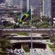 Foto b2-0012 –  VIADUTO DO CHÁ – O primeiro viaduto da cidade de São Paulo demorou 15 anos para ser construído. Idealizado em outubro de 1877 pelo francês Jules Martin, foi inaugurado em 8 de novembro de 1892.   São Paulo – SP (Edificações Históricas) – Localização: S23º32.788´ - W46º38.270´ Crédito obrigatório - Foto: Miguel Schincariol