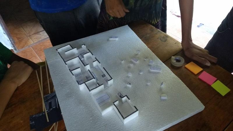 Maquete elaborada pela equipe do LabProj.