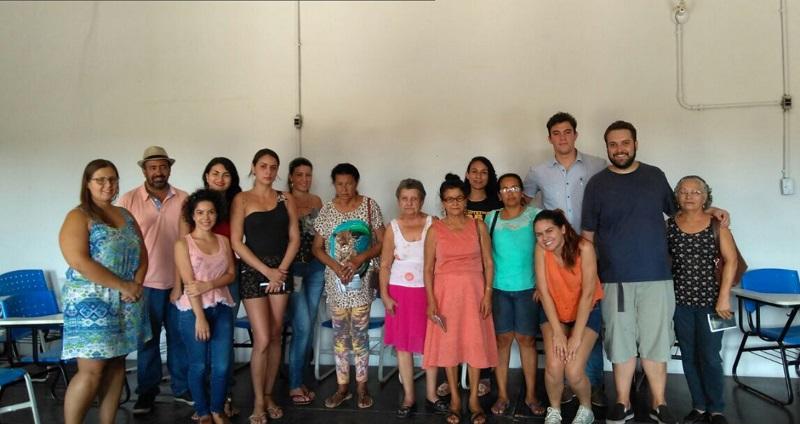 Famílias beneficiadas no município de Goiás.