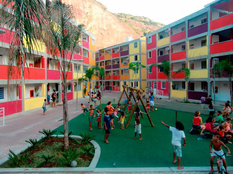 Núcleo Habitacional da Rocinha, no Rio de Janeiro.