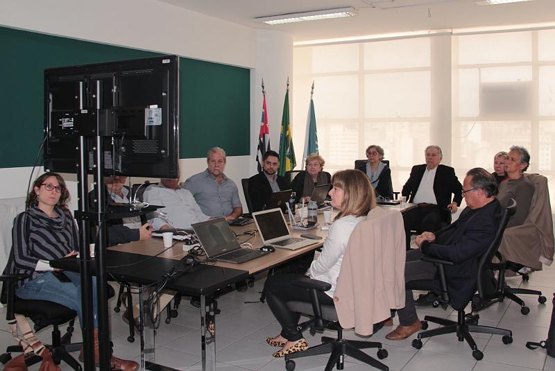 Reuniao da Comissão do CAU/SP para a UIA 2020.