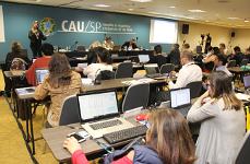 Plenaria do CAUSP em marco
